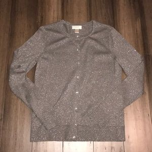 Silver shiny sweater